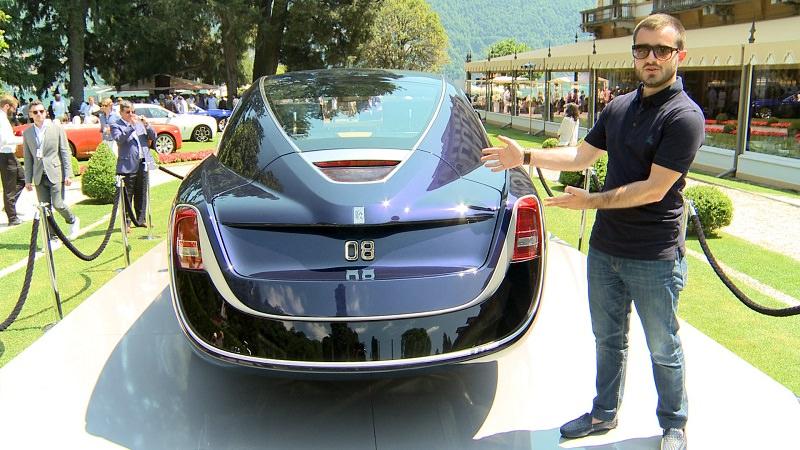 أغلى رولز رويس في العالم في معرض سيارات فيلا ديستي