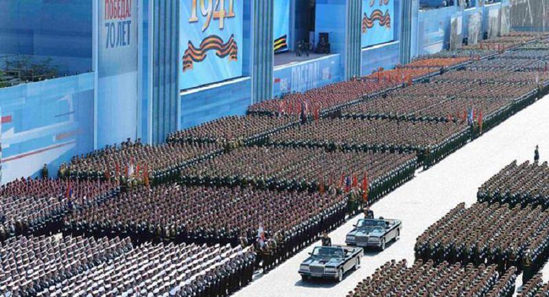 الجيش الروسي يقيم أضخم استعراض عسكري في العالم