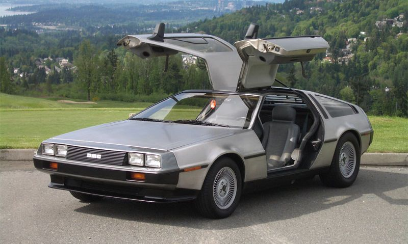 العودة إلى المستقبل ديلوريان DMC-12 افلام سيارات
