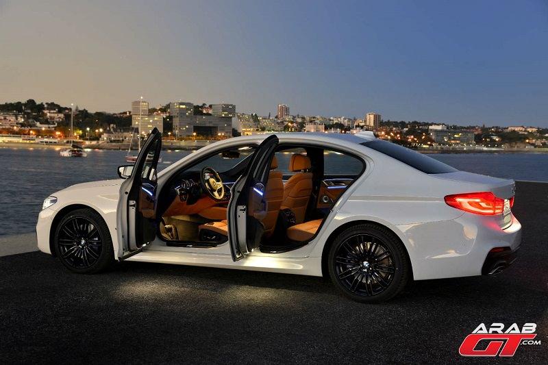 معلومات عن تسارع BMW M5 2018 الجديدة كلياً
