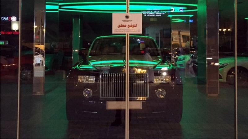 المرور السعودي يغلق معارض سيارات مخالفة