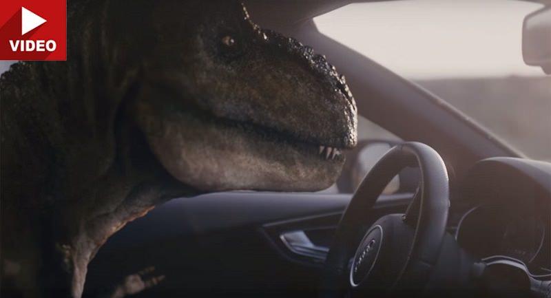 ما الرابط العجيب بين سيارات اودي المتطورة وهذا الديناصور