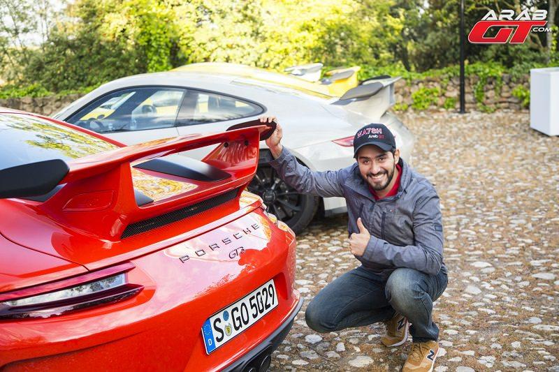 اختبار عرب جي تي لسيارة بورش 911 GT3 في جيلها الجديد