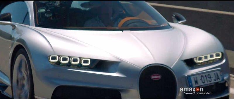 كلاركسون يختبر قيادة بوجاتي تشيرون أسطورة السرعة الخارقة