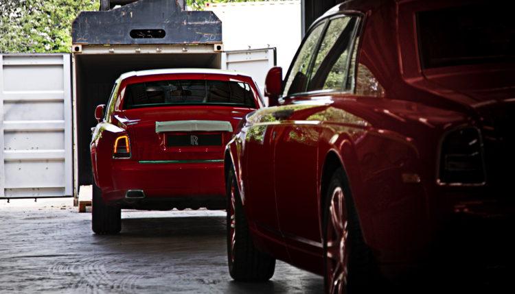 توصيل سيارات رولز رويس لستيفن هونغ