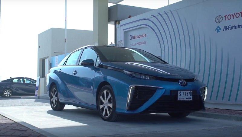 تويوتا الإمارات تفتتح أول محطة لسيارات الهيدروجين