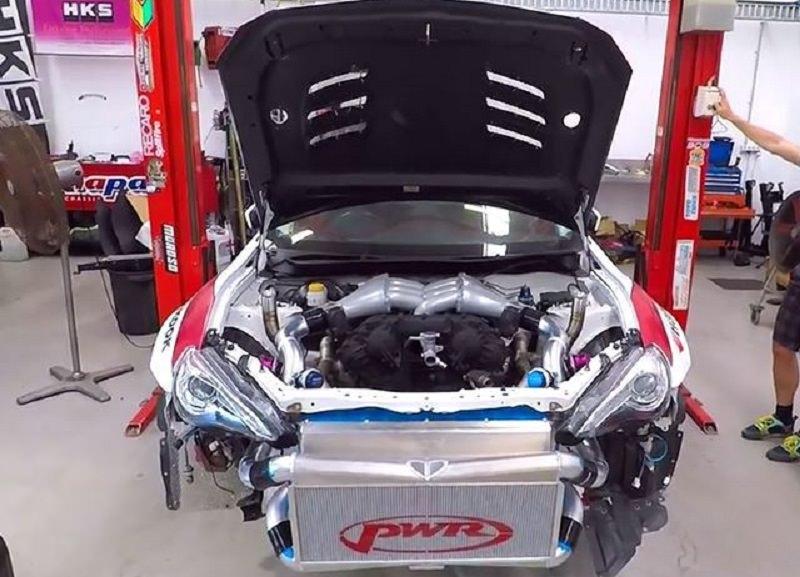 اعرف كم تبلغ قوة تويوتا 86 المزودة بمحرك GTR