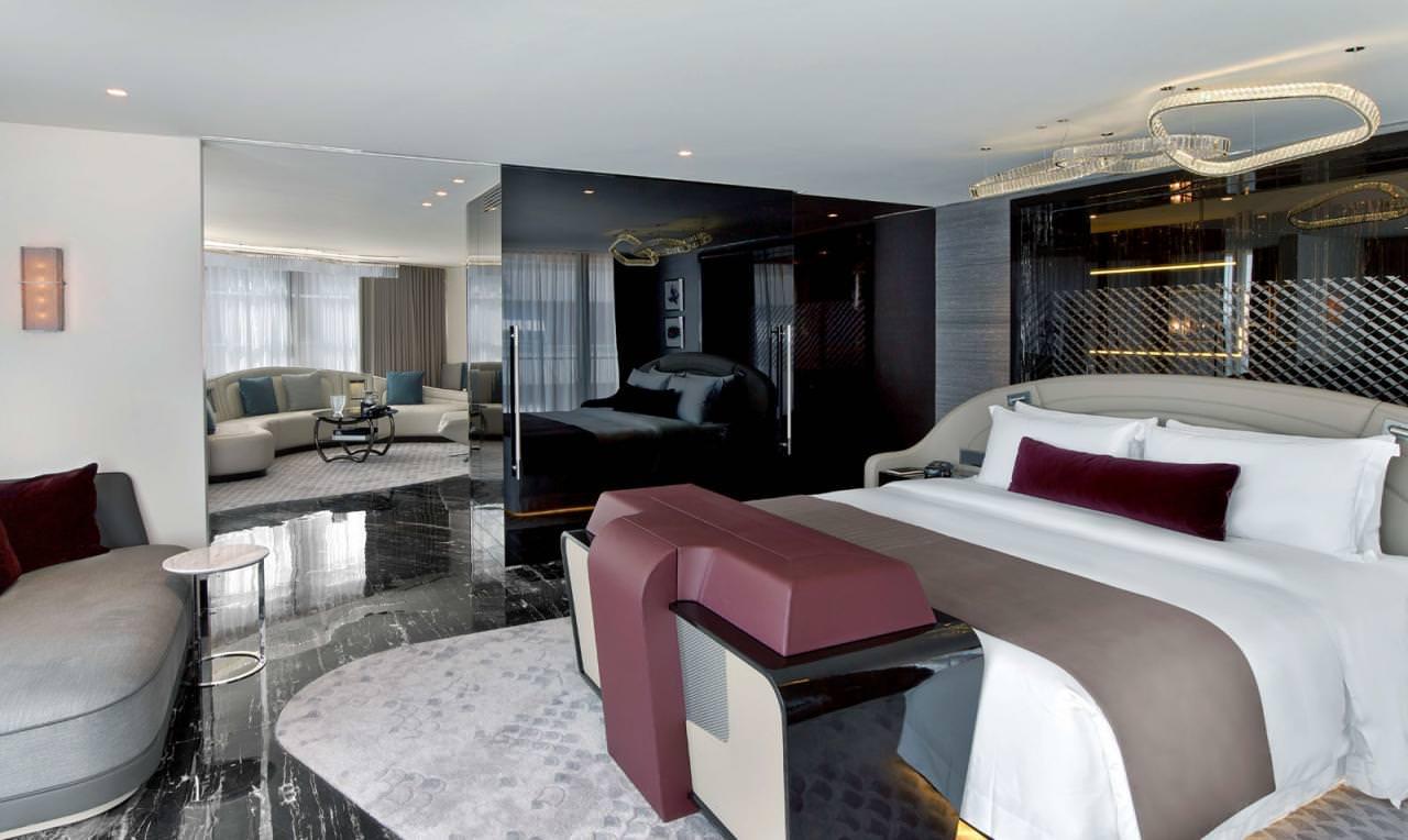 الكشف عن جناح بنتلي في فندق سانت ريجيس في اسطنبول