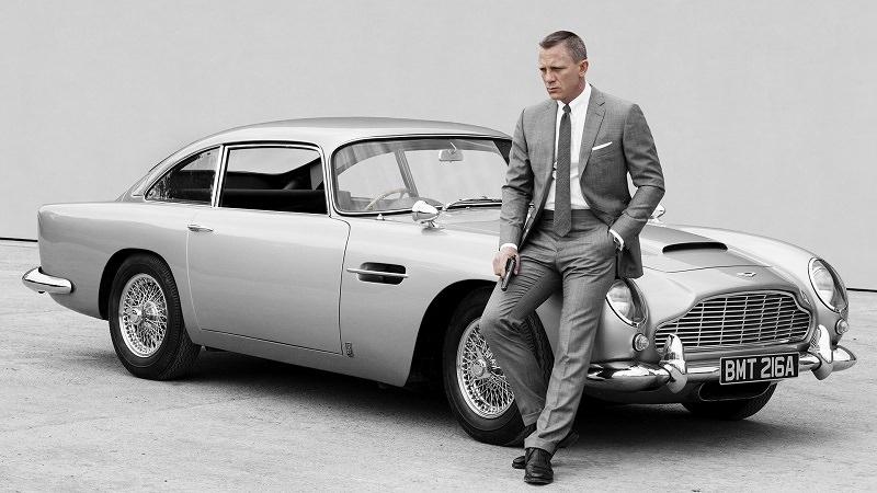 جيمس بوند استون مارتن افلام سيارات