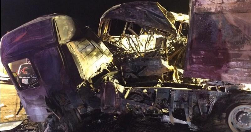 حادث مروع بين حافلة ركاب وشاحنة يخلف ضحايا بالرياض