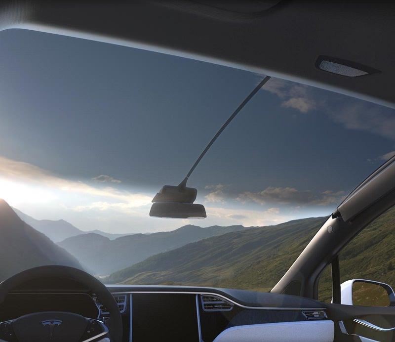 سيارة تيسلا موديل اكس 2017