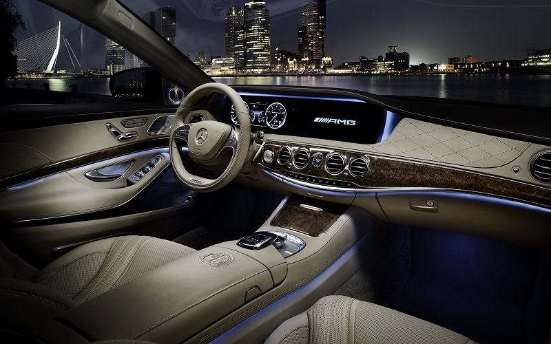 مرسيدس S65 AMG 2016 من الداخل