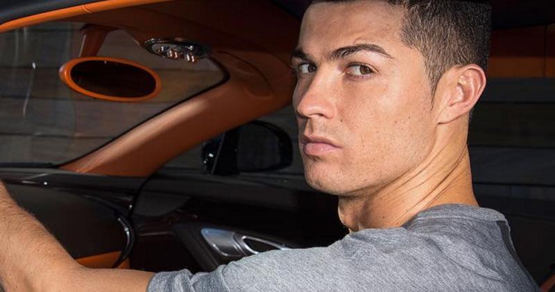 رونالدو في سيارة خارقة يشعل مواقع التواصل الاجتماعي