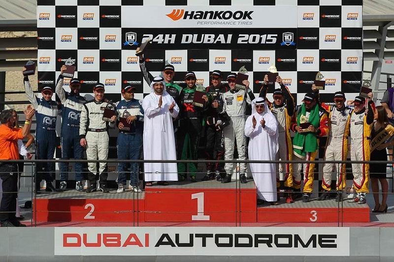 أميران سعوديان يفوزان بسباق دبي 24 ساعة