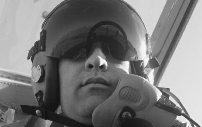 سقوط طائرة عسكرية اردنية ووفاة احد طياريها