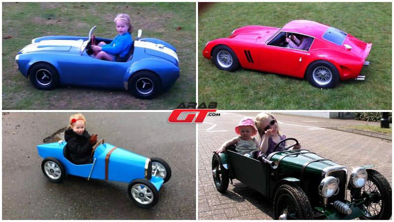 سيارات فائقة تتحول إلى سيارات أطفال
