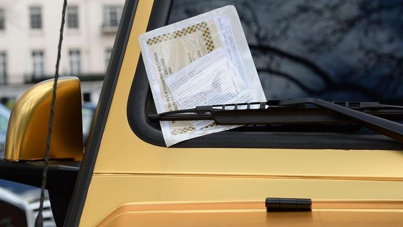 سيارات ذهبية لثري سعودي تحصل على مخالفات في لندن