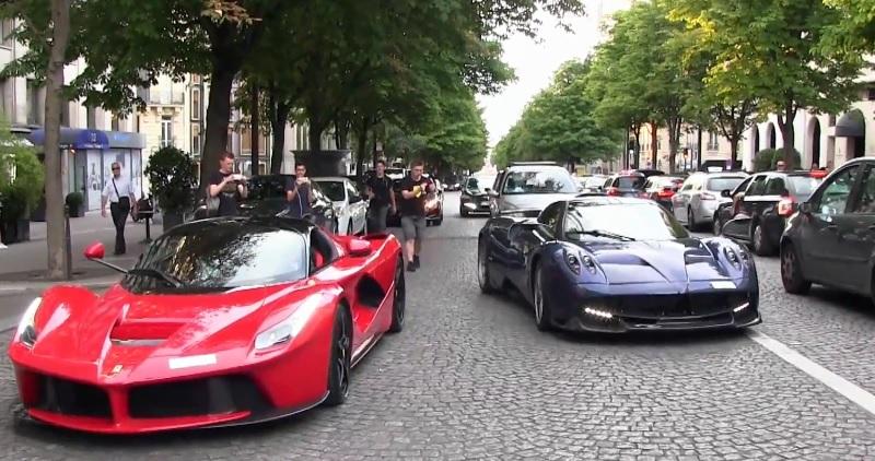 سيارات سعودية نادرة تخطف الأنظار في باريس