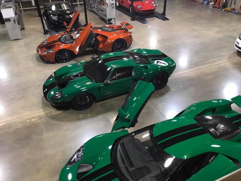 تكلفة طلاء فورد GT بلون خاص أغلى من شراء سوناتا 2018