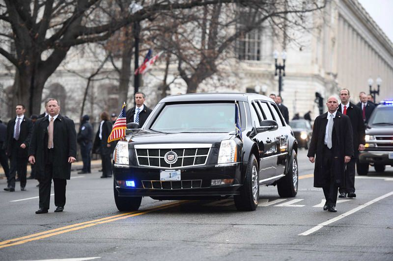 سيارة الرئيس الأمريكي