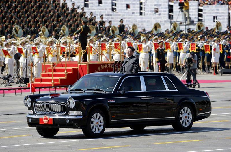 سيارة الرئيس الصيني