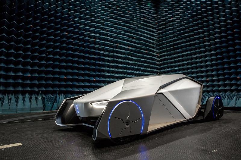 لا تنصدم من هذه المركبة لأنها تكشف عن مستقبل شكل السيارات