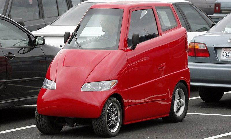 سيارة صغيرة كهربائية