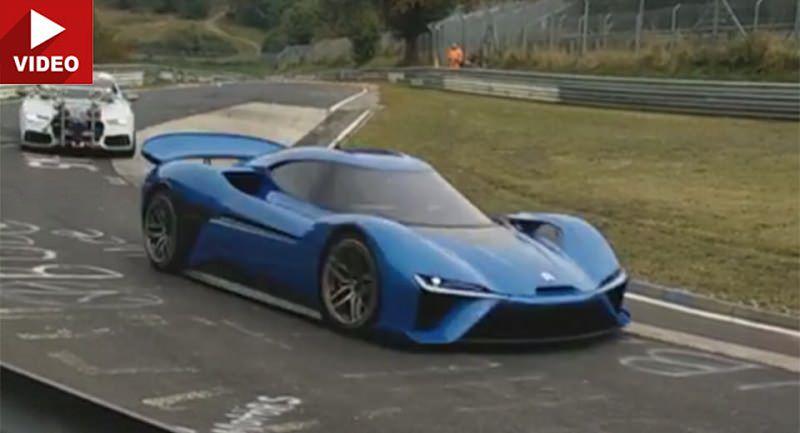 السيارة الصينية الخارقة ذات الـ 1,360 حصان تختبر سرعتها
