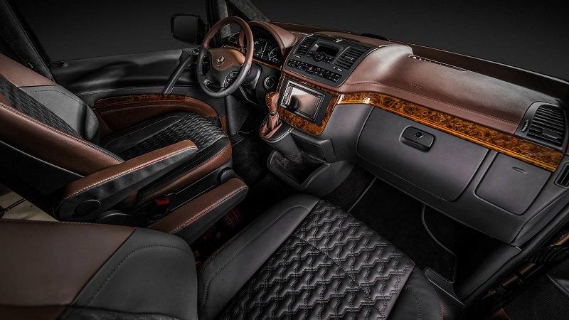 مرسيدس فيانو تحصل على داخلية معدلة أفخم من سيارات اس كلاس