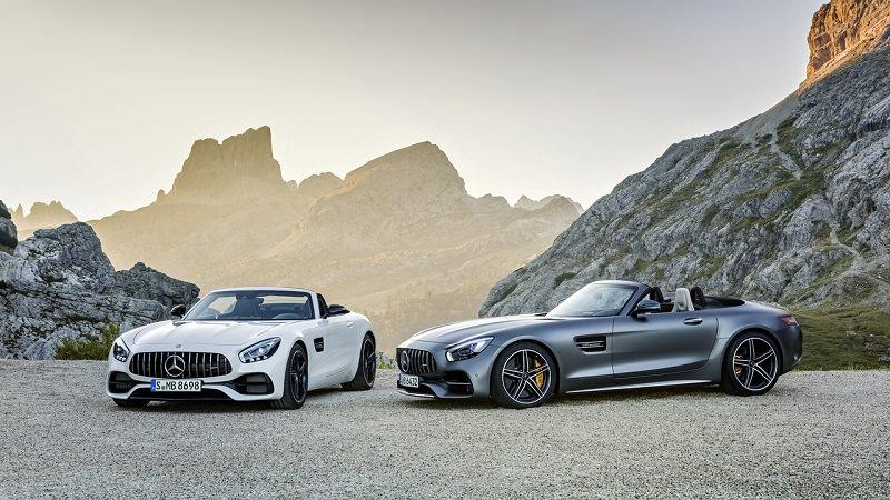AMG GTC و AMG GT رودستر أجدد سيارات كشف من مرسيدس