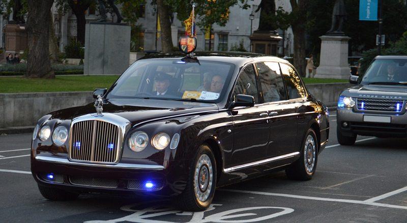 سيارة ملكة بريطانيا