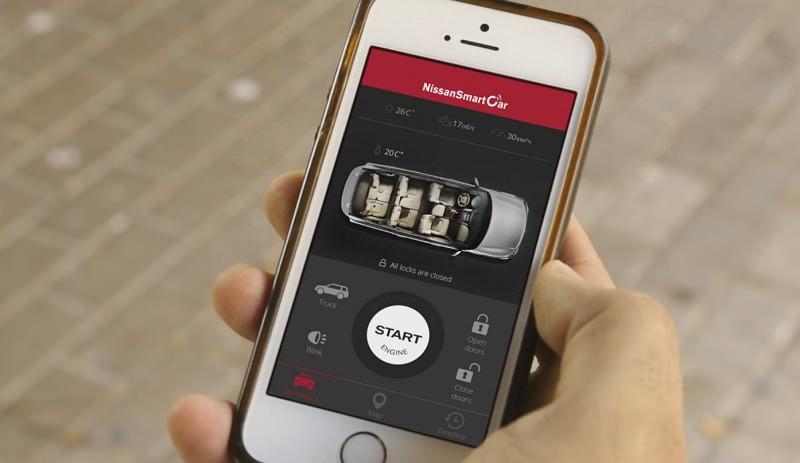 تطبيق جديد من نيسان يحول سيارتك إلى سيارة ذكية