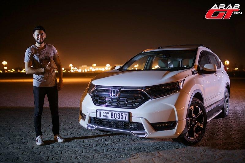 هوندا CRV 2017 تحت تجربة عرب جي تي