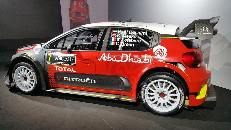 سيتروين ريسينغ وأبوظبي للسباقات تكشفان عن سيارة C3 WRC الجديدة