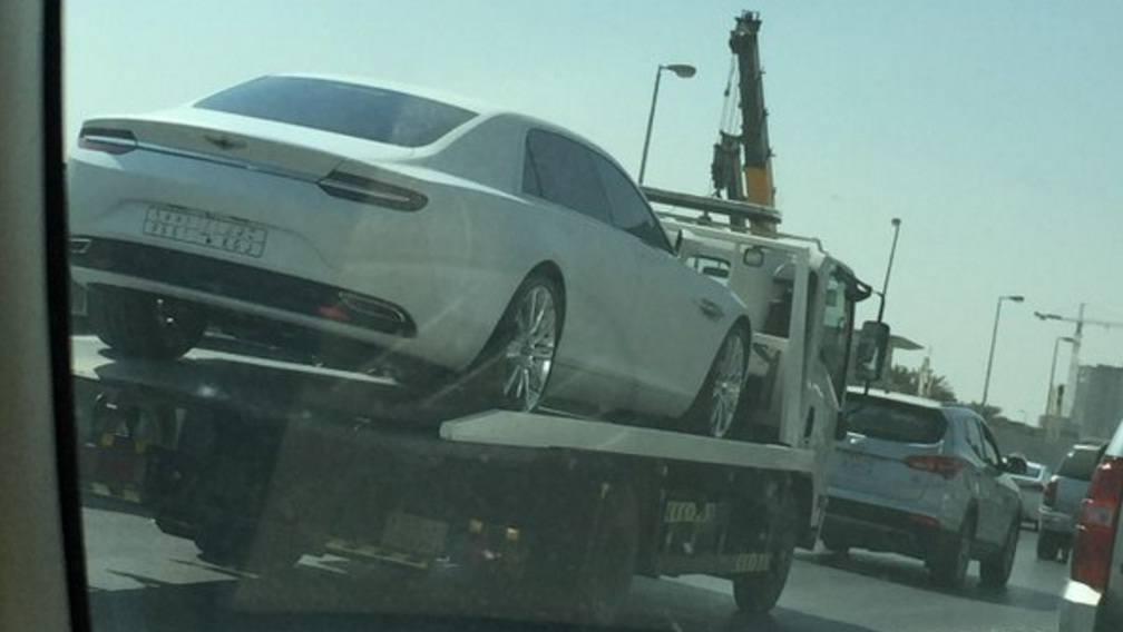 شحن سيارة استون مارتن لاجوندا ترف لمالكها في السعودية