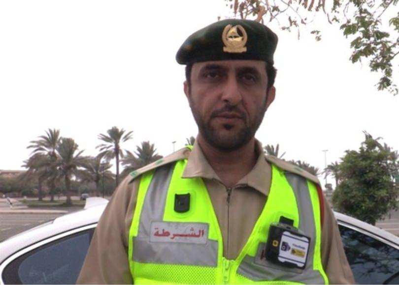 شرطة دبي تستخدم 80 كاميرا مثبتة على أكتاف أفرادها