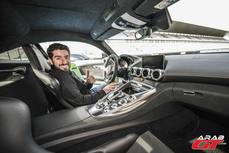 داخلية AMG GT R