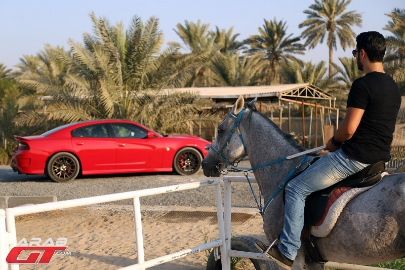 دودج تشارجر هيلكات 2015 تحت تجربة عرب جي تي