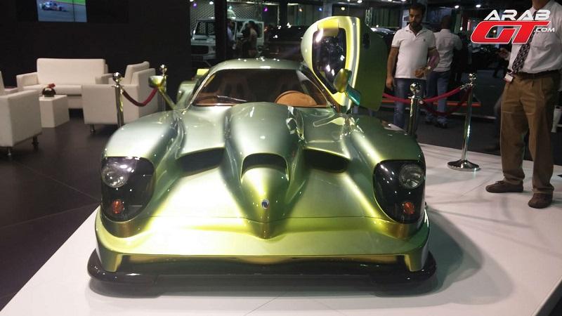 تعرف على مواصفات أغرب سيارة مشاركة في معرض دبي