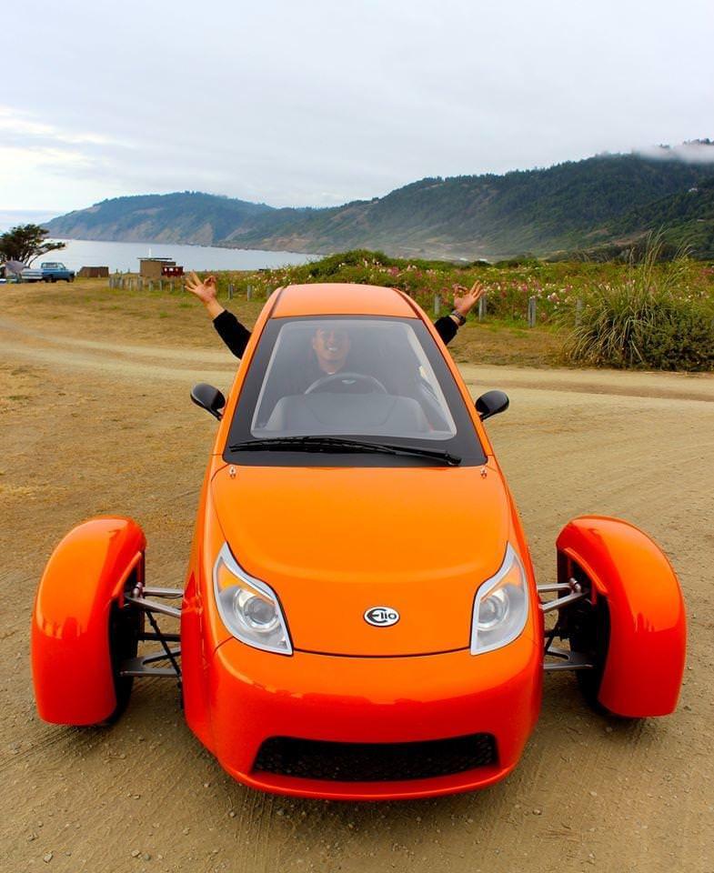 تعرف على سيارة Elio P5 الاقتصادية ذات الثلاث عجلات
