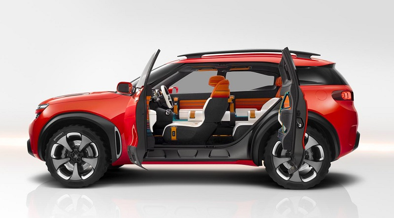 سيتروين ايركروس سيارة اختبارية جريئة