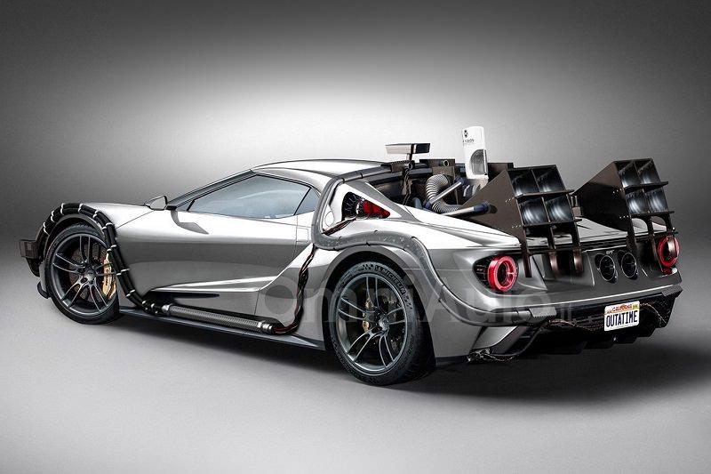 فورد GT تجمع بين الماضي والمستقبل في هذا المظهر الجديد