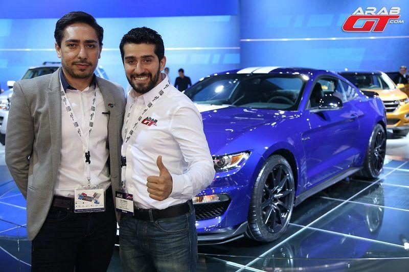 سيارات فورد في معرض دبي للسيارات
