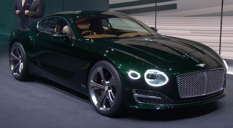بنتلي EXP 10 Speed 6 مفاجأة جديدة تشوق لسيارة مستقبلية