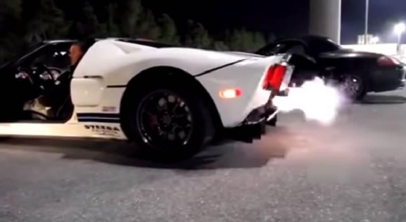 نتيجة استعراض جنوني من بطولة فورد GT بقوة 2400 حصان