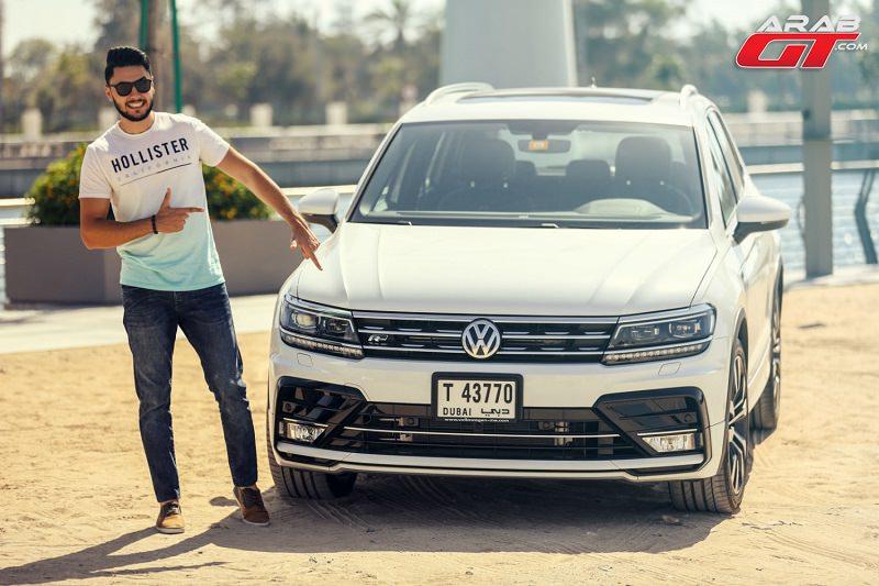 تيجوان 2017 تحت تجربة عرب جي تي