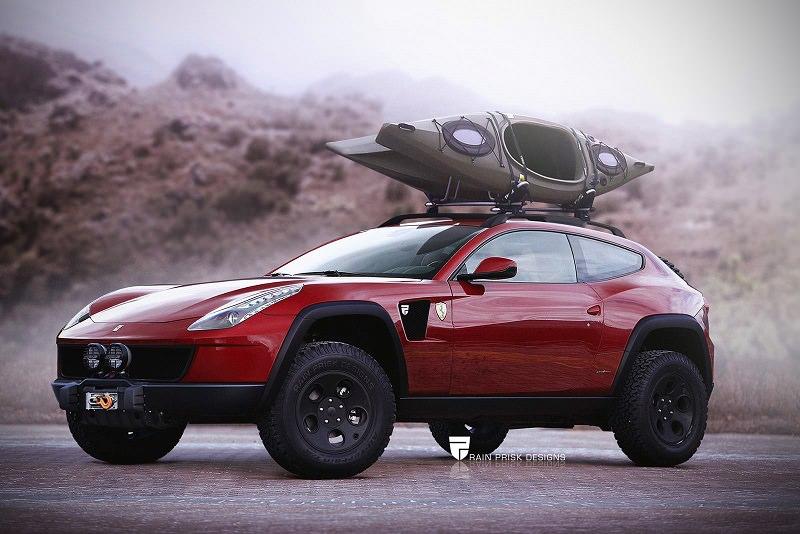 قرار صنع سيارة فيراري SUV قد حسم بعد طول إنتظار