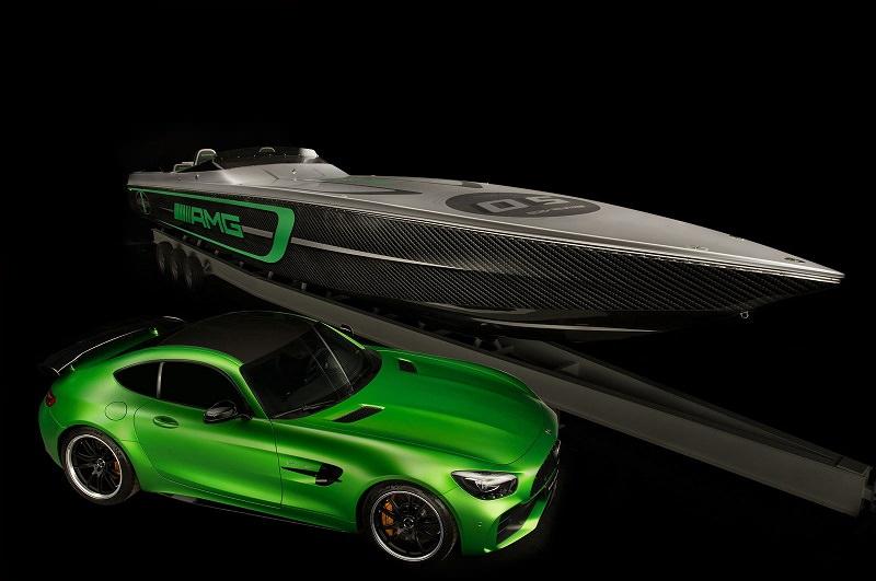 إطلاق قارب جديد مستوحى من مرسيدس AMG GT R