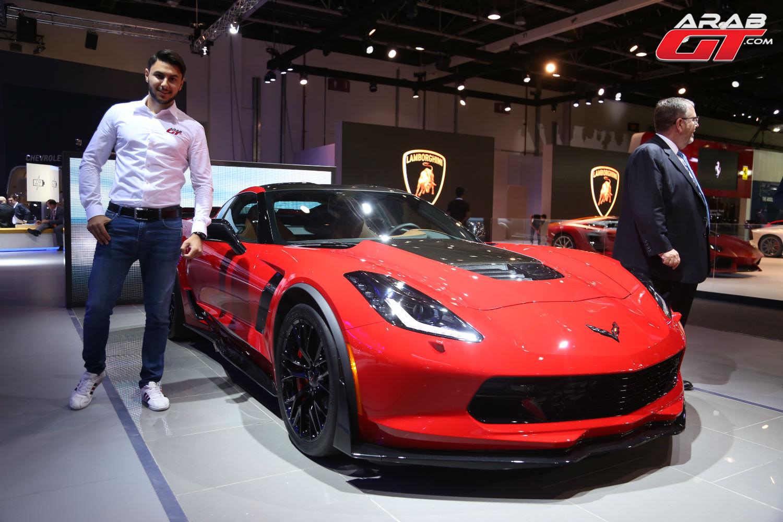 سيارات شيفروليه في معرض دبي الدولي للسيارات