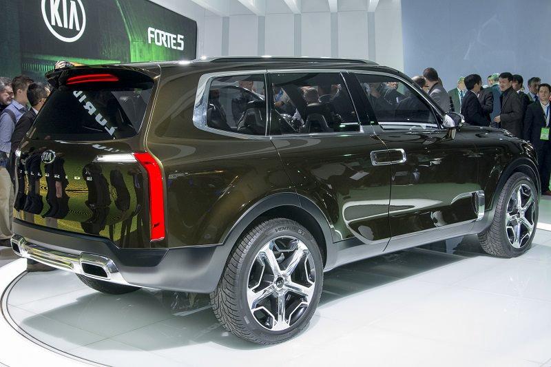 كيا Telluride سيارة جديدة تمثل المستقبل الكوري   ArabGT
